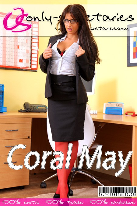 Coral May - for ONLYSECRETARIES COVERS