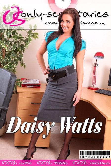 Daisy Watts - for ONLYSECRETARIES COVERS
