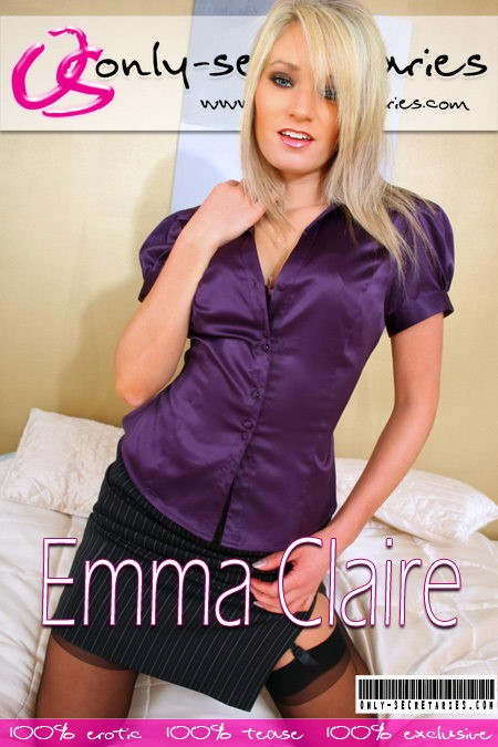Emma Claire - for ONLYSECRETARIES COVERS