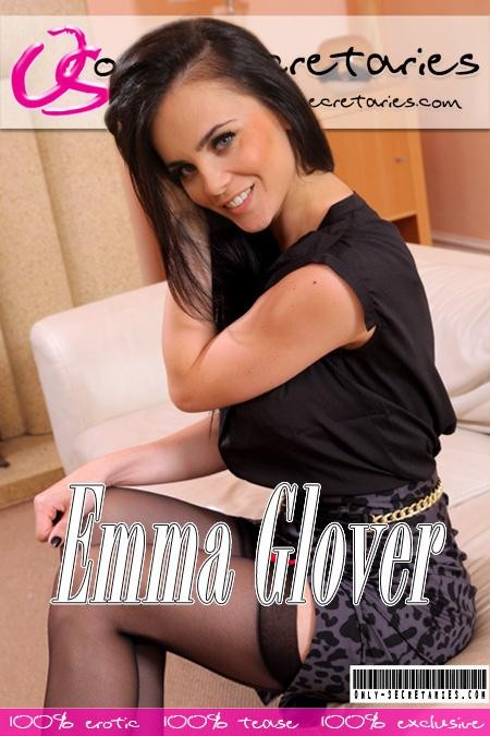 Emma Glover - for ONLYSECRETARIES COVERS