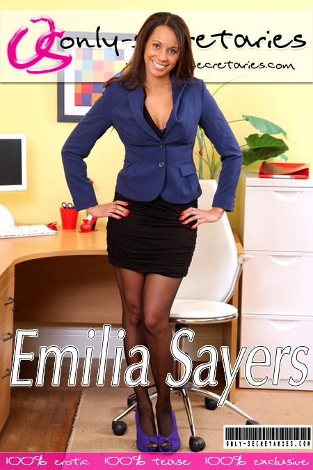 Emilia Sayers - for ONLYSECRETARIES COVERS