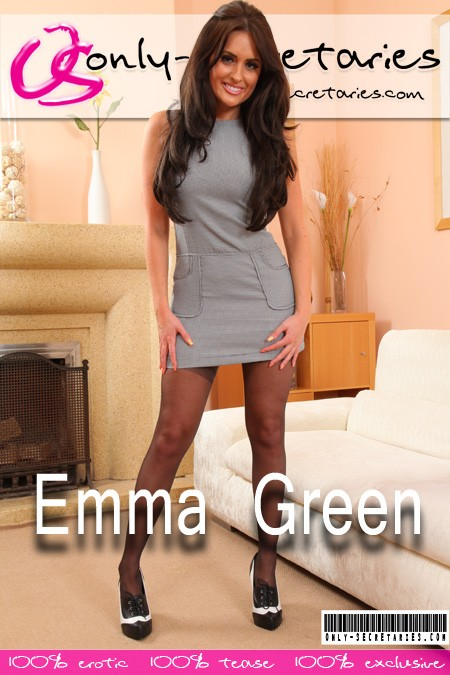 Emma Green - for ONLYSECRETARIES COVERS