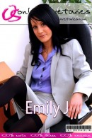 Emily J in  gallery from ONLYSECRETARIES COVERS
