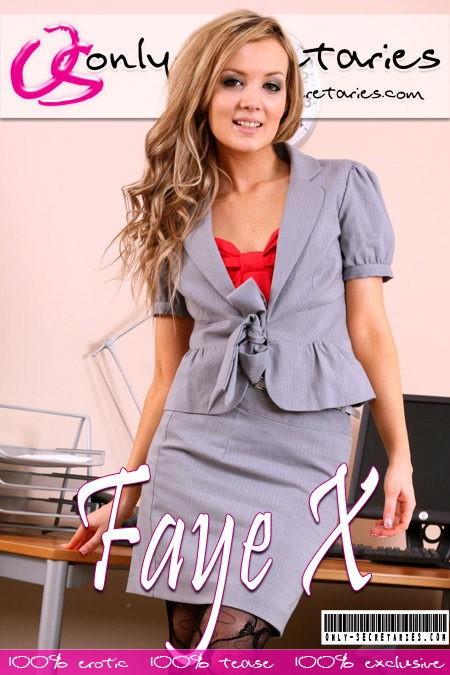 Faye X - for ONLYSECRETARIES COVERS