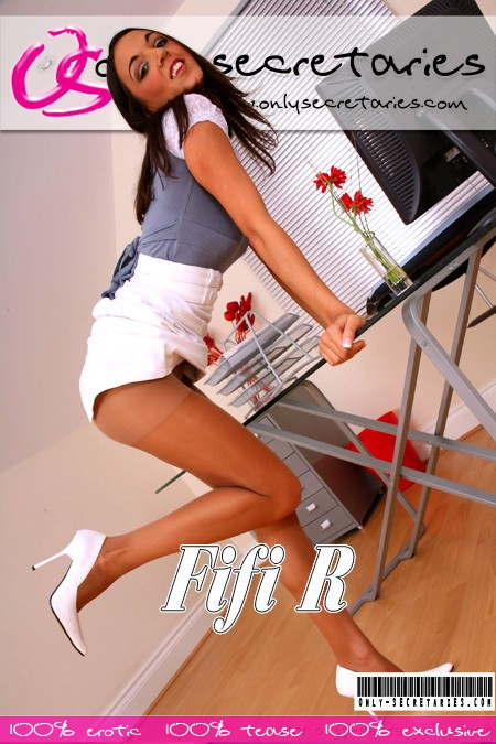 Fifi R - for ONLYSECRETARIES COVERS