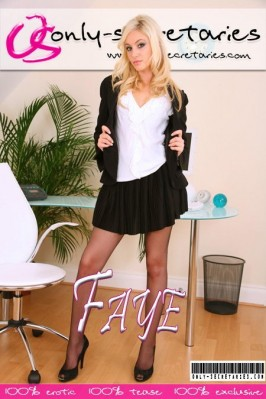 Faye  from ONLYSECRETARIES COVERS