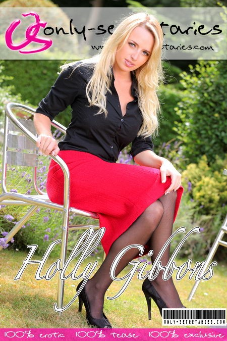Holly Gibbons - for ONLYSECRETARIES COVERS