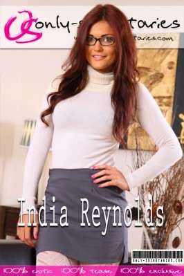 India Reynolds  from ONLYSECRETARIES COVERS