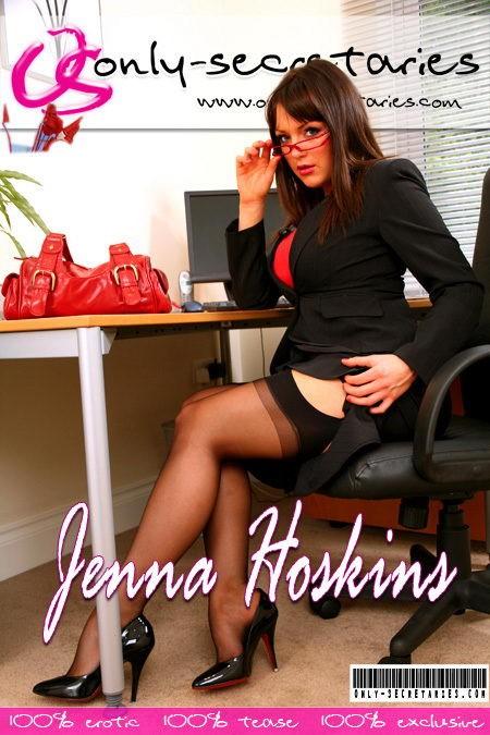 Jenna Hoskins - for ONLYSECRETARIES COVERS