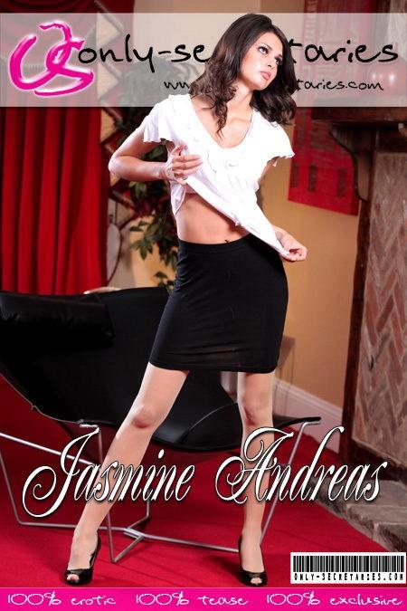 Jasmine Andreas - for ONLYSECRETARIES COVERS