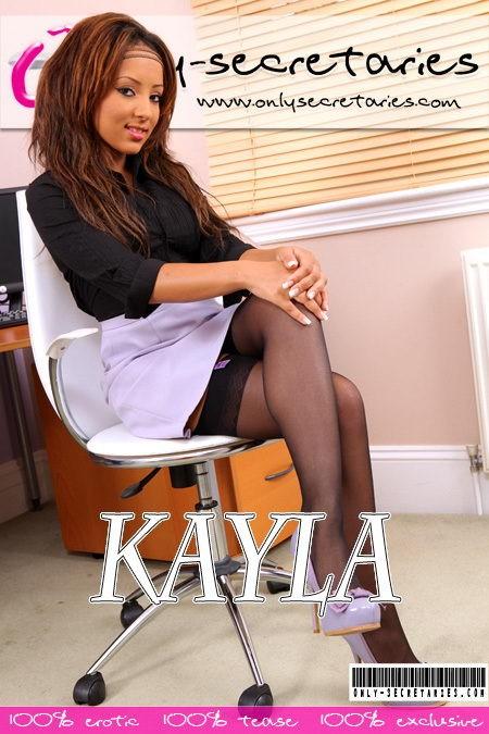 Kayla - for ONLYSECRETARIES COVERS