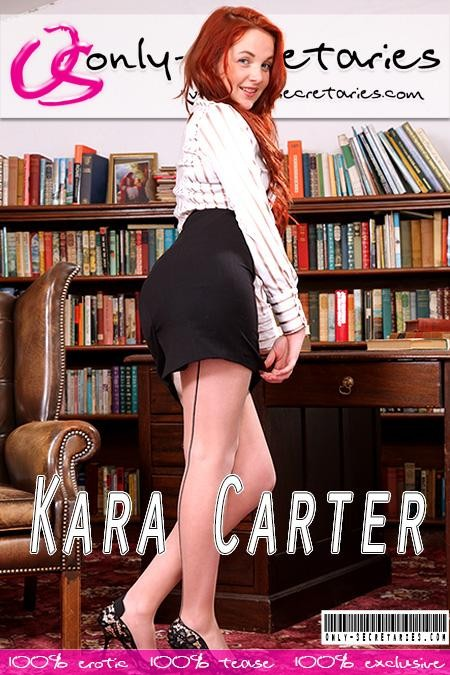 Kara Carter - for ONLYSECRETARIES COVERS
