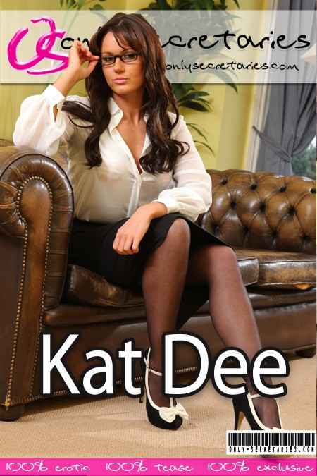 Kat Dee - for ONLYSECRETARIES COVERS