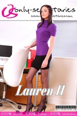 Lauren H  from ONLYSECRETARIES COVERS