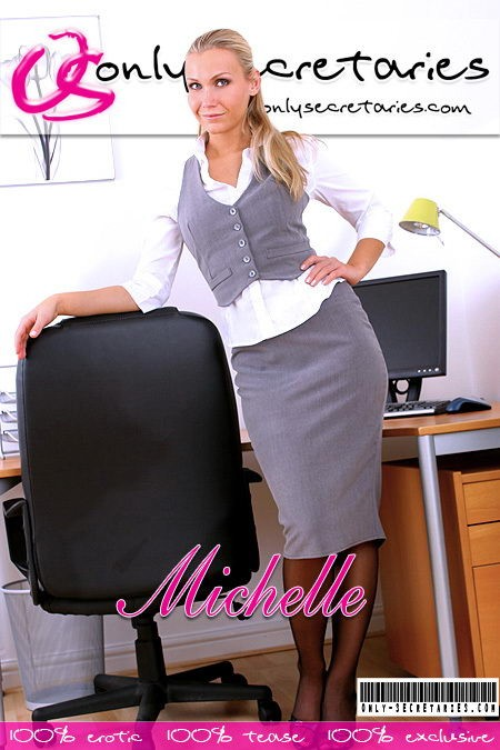 Michelle - for ONLYSECRETARIES COVERS