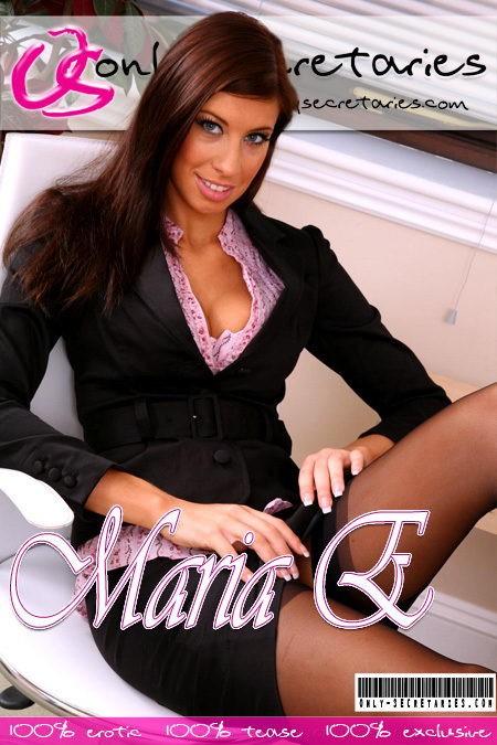 Maria E - for ONLYSECRETARIES COVERS
