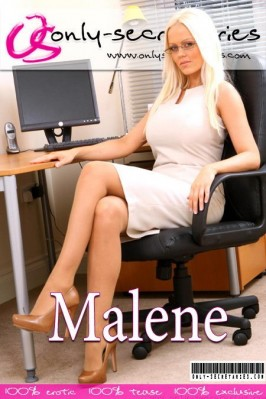 Malene from ONLYSECRETARIES COVERS