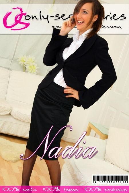 Nadia E - for ONLYSECRETARIES COVERS