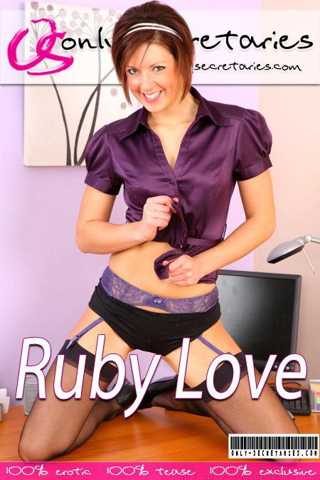 Ruby Love - for ONLYSECRETARIES COVERS