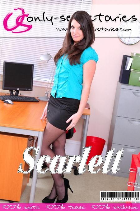 Scarlett - for ONLYSECRETARIES COVERS