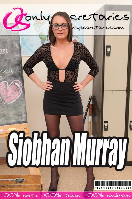 Siobhan Murray - for ONLYSECRETARIES COVERS