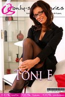 Toni E in  gallery from ONLYSECRETARIES COVERS