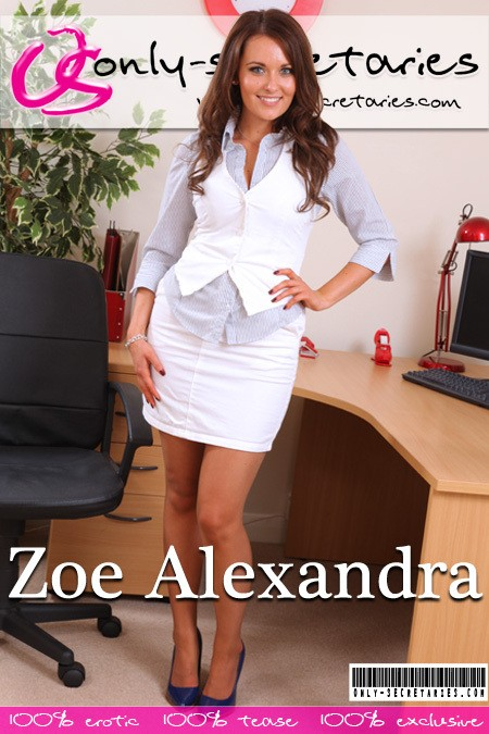 Zoe Alexandra - for ONLYSECRETARIES COVERS