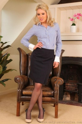 Emma Claire  from ONLYSECRETARIES