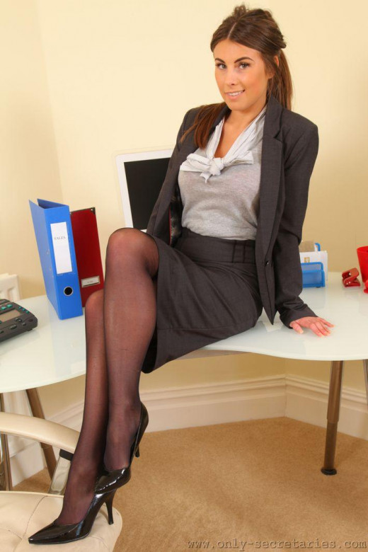 Sarah James gallery from ONLYSECRETARIES