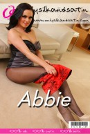 Abbie in  gallery from ONLYSILKANDSATIN COVERS