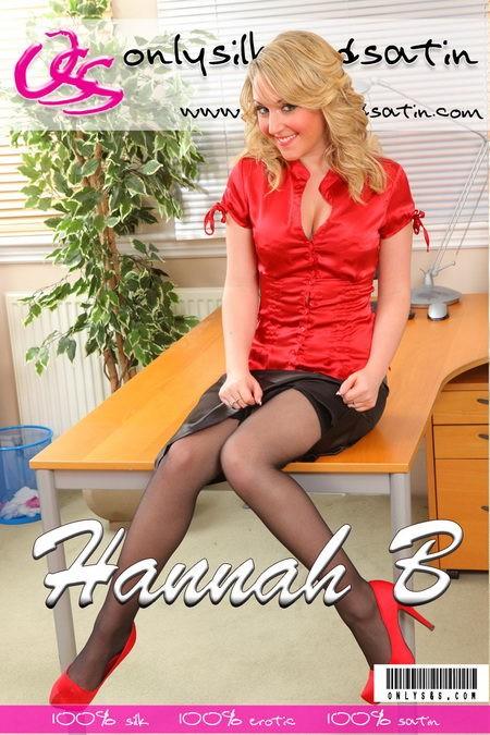 Hannah B - for ONLYSILKANDSATIN COVERS