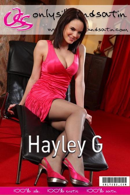 Hayley G - for ONLYSILKANDSATIN COVERS