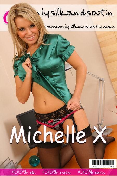 Michelle X - for ONLYSILKANDSATIN COVERS