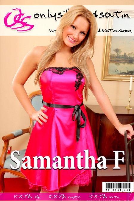 Samantha F - for ONLYSILKANDSATIN COVERS