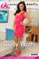 Daisy Watts gallery from ONLYSILKANDSATIN