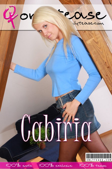 Cabiria - for ONLYTEASE COVERS