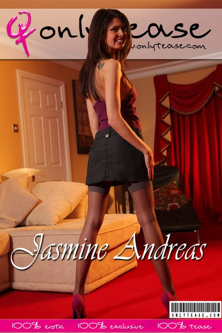 Jasmine Andreas - for ONLYTEASE COVERS