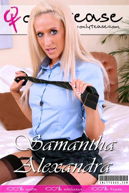 Samantha Alexandra - for ONLYTEASE COVERS
