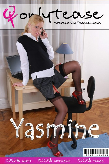 Yasmine - for ONLYTEASE COVERS