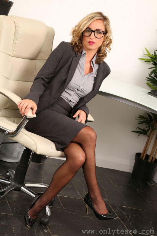 Mature secretary job interview