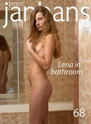 Lena in Bathroom