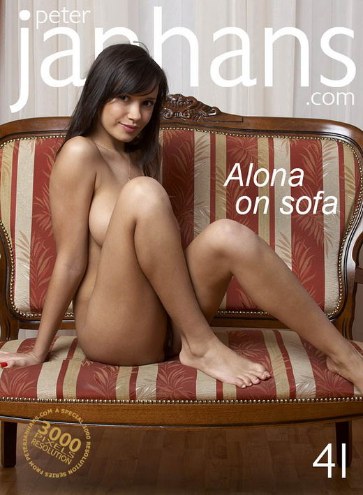 Alona - `Alona on sofa` - by Peter Janhans for PETERJANHANS
