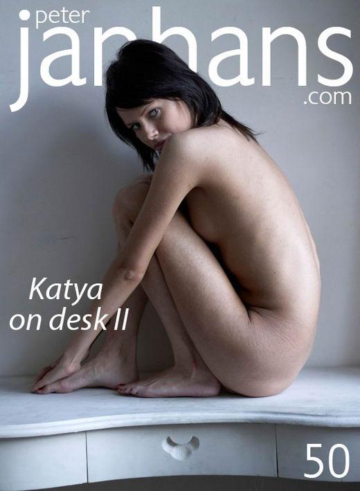 Katya - `Katya on desk II` - by Peter Janhans for PETERJANHANS