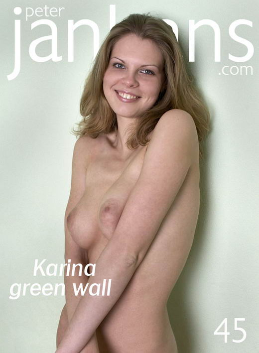 Karina - `Karina green wall` - by Peter Janhans for PETERJANHANS