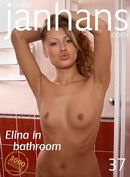 Elina in bathroom