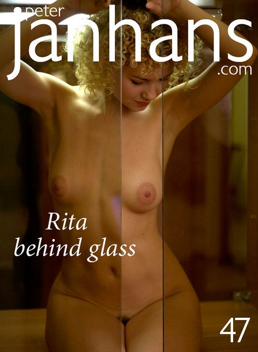 Rita - `Rita behind glass` - by Peter Janhans for PETERJANHANS