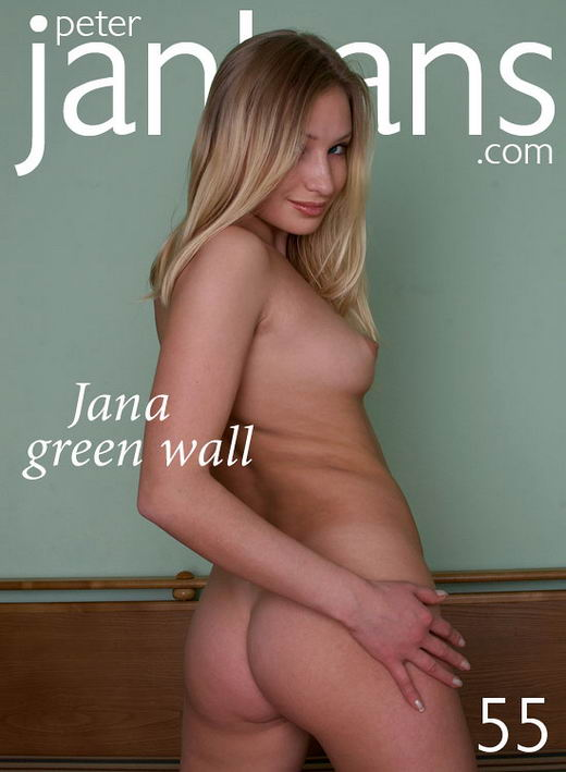 Jana - `Jana Green wall` - by Peter Janhans for PETERJANHANS
