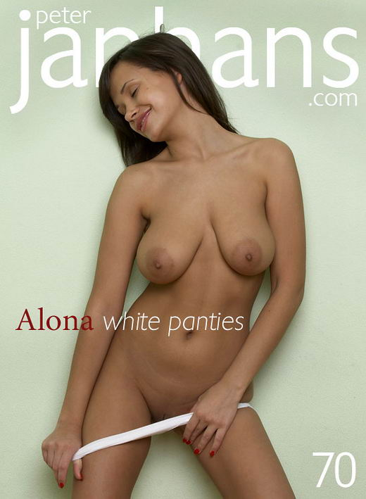 Alona - `Alona white panties` - by Peter Janhans for PETERJANHANS
