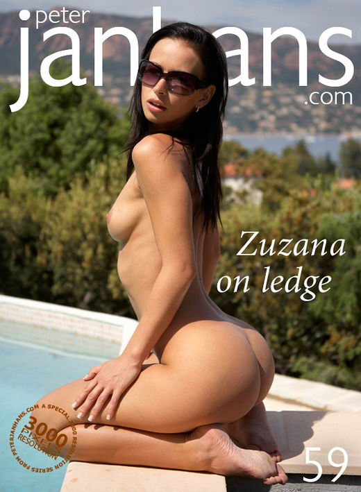 Zuzana - `Zuzana on ledge` - by Peter Janhans for PETERJANHANS