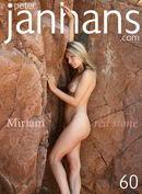 Miriam - Miriam red stone
